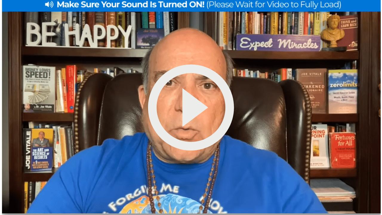 awakened Millionaire Dr Joe Vitale Awakening Program