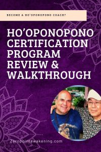 Hooponopono course review dr joe vitale