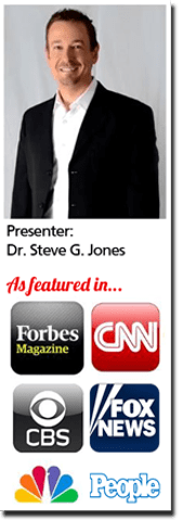 dr steve g jones as featured in