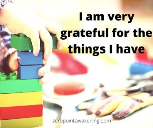 I am grateful children law of attraction