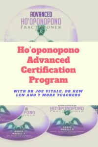 hooponopono advanced course fifth phrase joe vitale