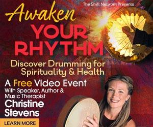 Shamanic Drumming Christine Stevens banner course