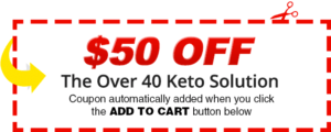 coupon over 40 keto solution